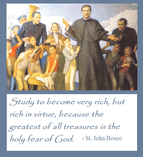 "St John Bosco Quotes Education: ""Education Is A Matter Of The Heart"""